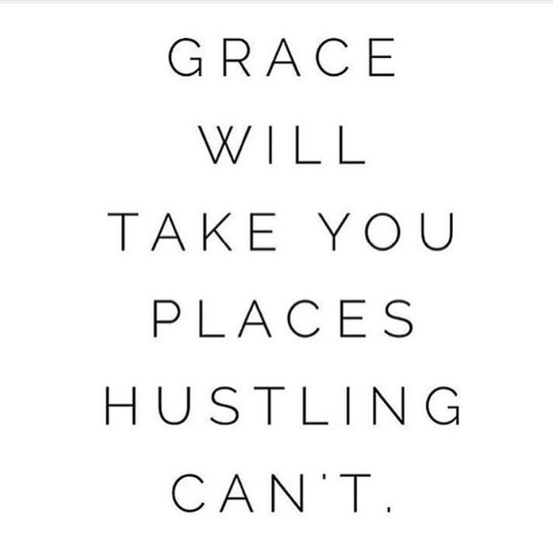 I been working behind the scenes on some new exciting changes for myself and the way I want to move forward and I really couldn't sum it more than that Grace will take you places hustling can't and it really is the plain truth. #heythuy #graceoverperfection
