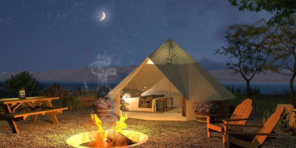 Bear Lake Glamping Of Conestoga Ranch The First Resort At Utah S
