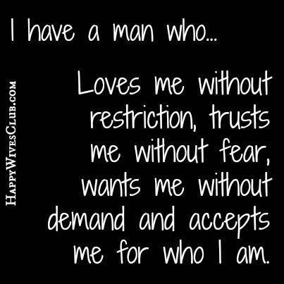 Im So Lucky To Be The Woman He Has Chosen No Lies No Games No