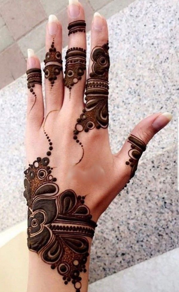 Latest stylish mehndi designs for weddings  parties art henna also best images in rh pinterest