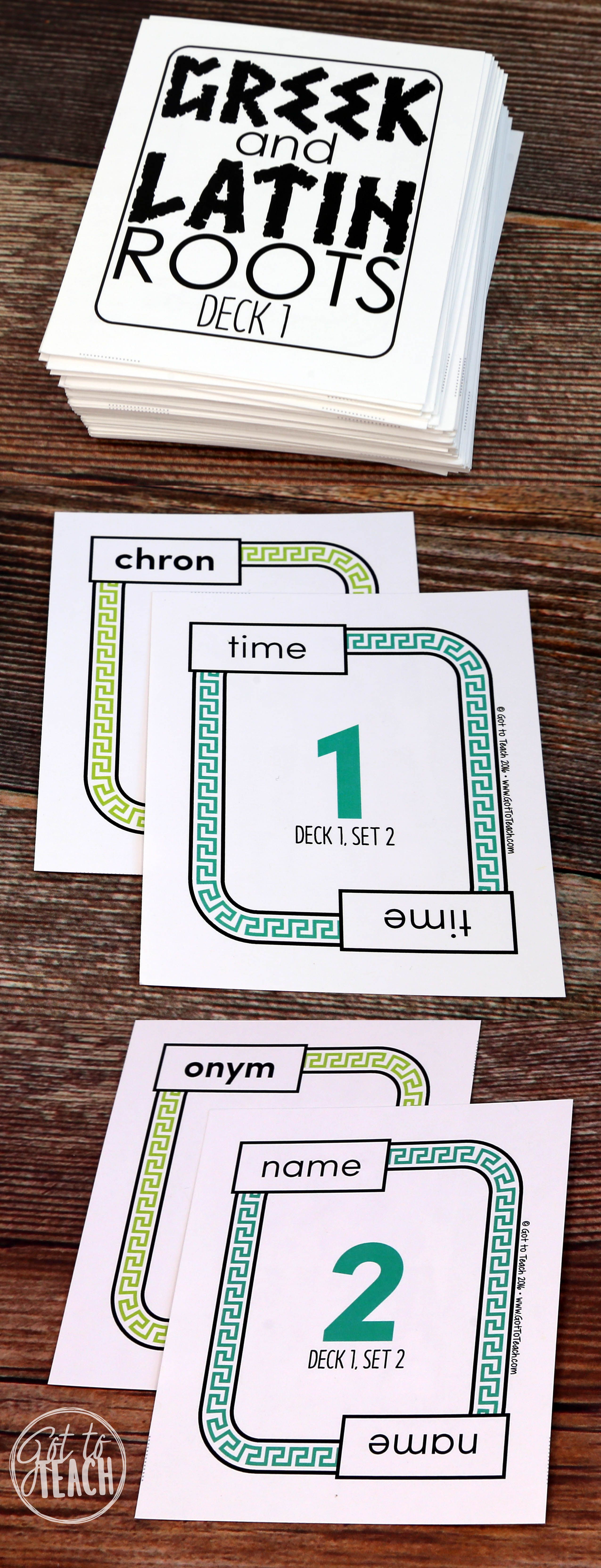 A Fun Card Game To Learn And Reinforce Greek And Latin