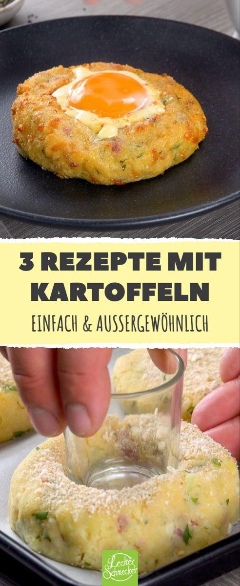 3 außergewöhnliche Rezepte mit Kartoffeln