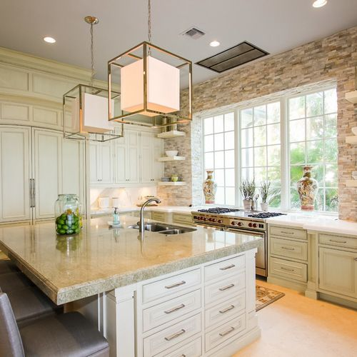 Kitchen Island With Stove Plans: 40,862 Stove Under Window Kitchen Design Ideas, Remodels & Photos