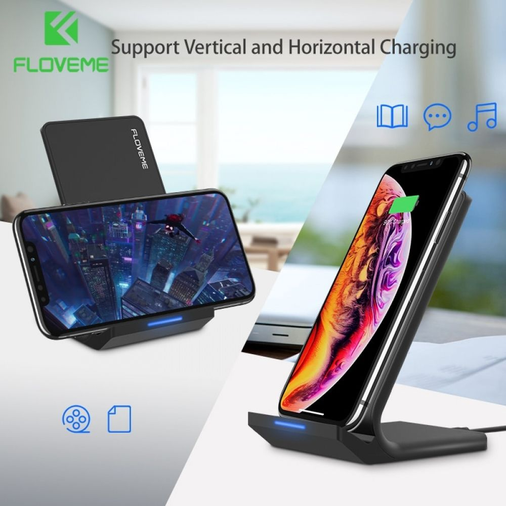 FLOVEME 5V/2A Wireless Charger Price $27.98 amp FREE Shipping Worldwide