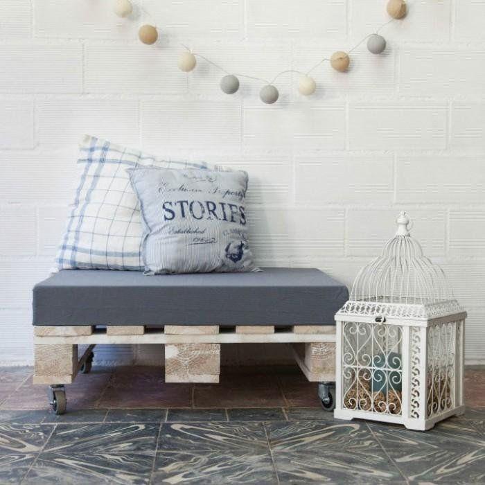 Cambia tu casa por completo con 5 muebles de palés