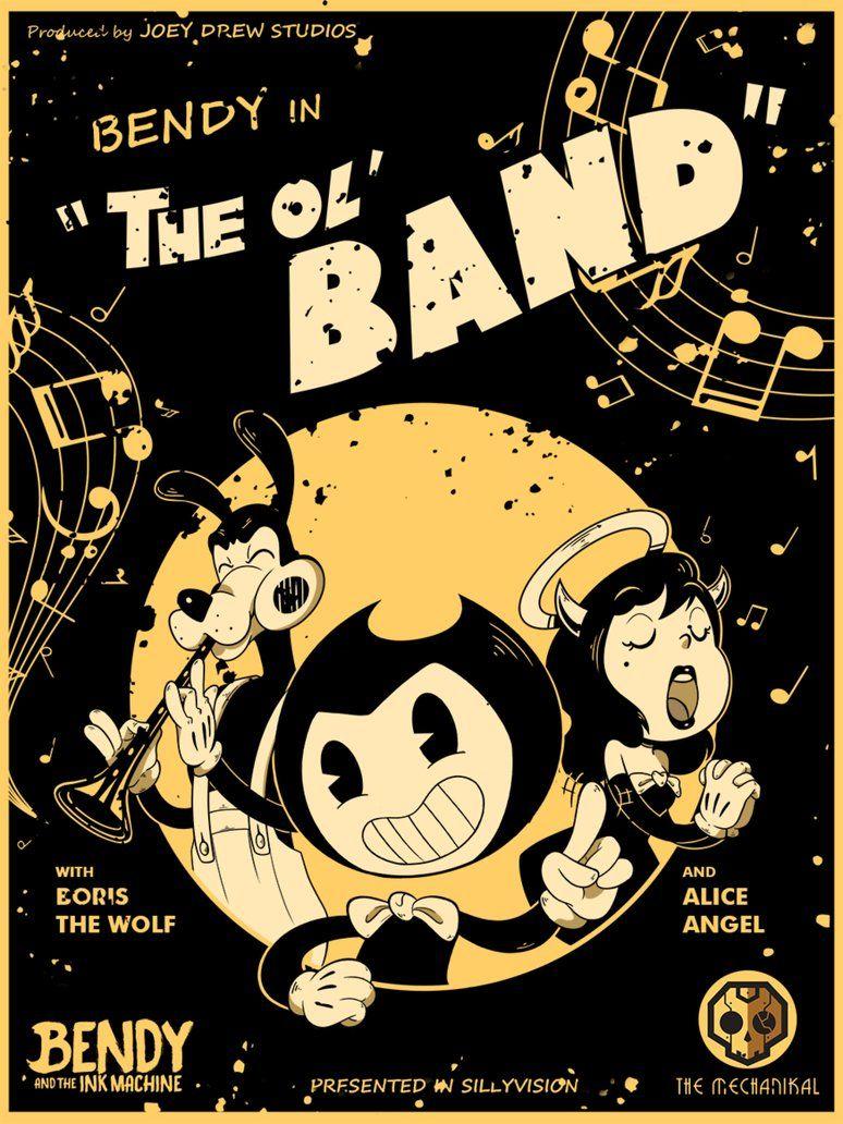 Bendy Boris And Alice The Band Lahve