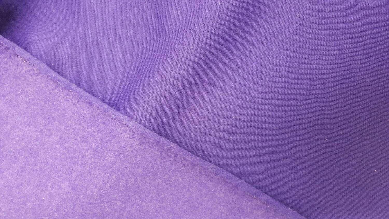 Poly cotton sweatshirt fleece fabric by the yard purple products