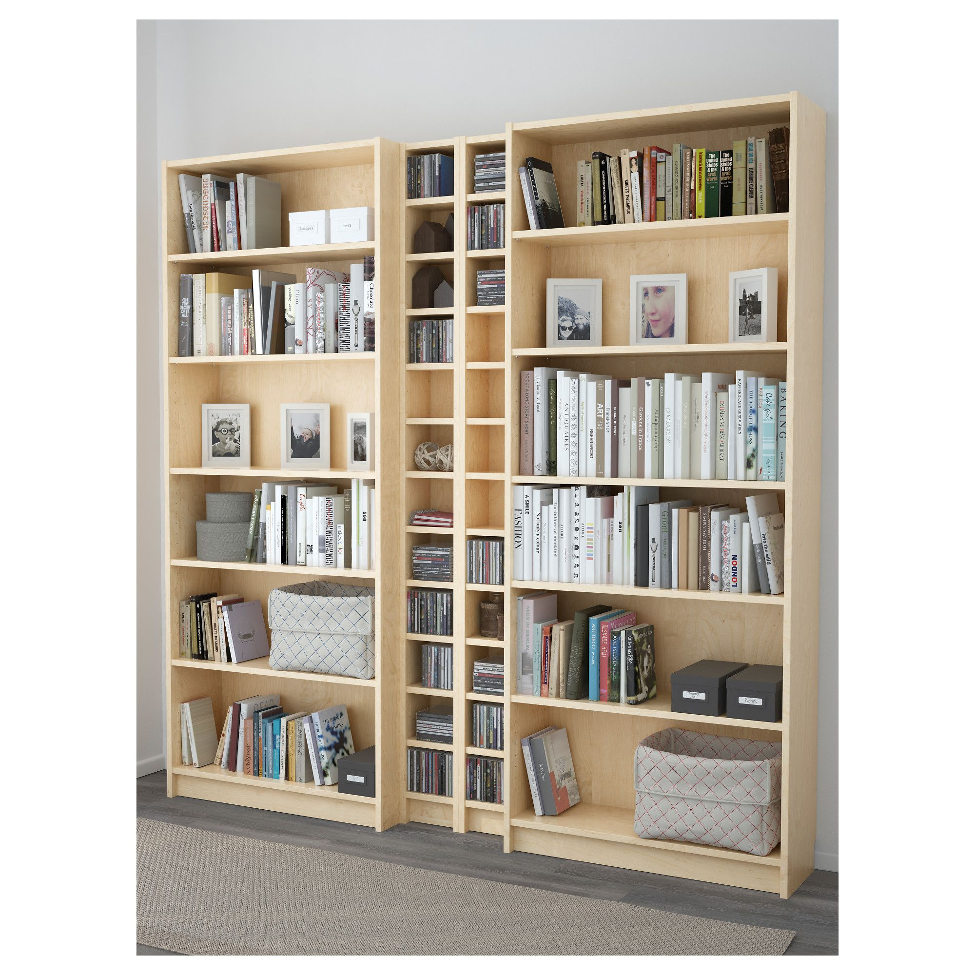 Billy Bookcase Ikea Canada Ikea Billy Gnedby Bookcase Birch Veneer In 2018