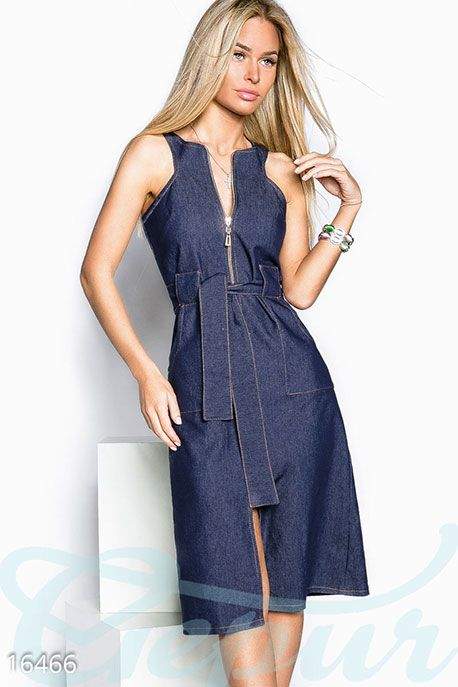 348de5394f94726 Летний джинсовый сарафан фото 1 Платье Джемпер, Передник Платья, Джинсовая  Одежда, Джинсовые Юбки