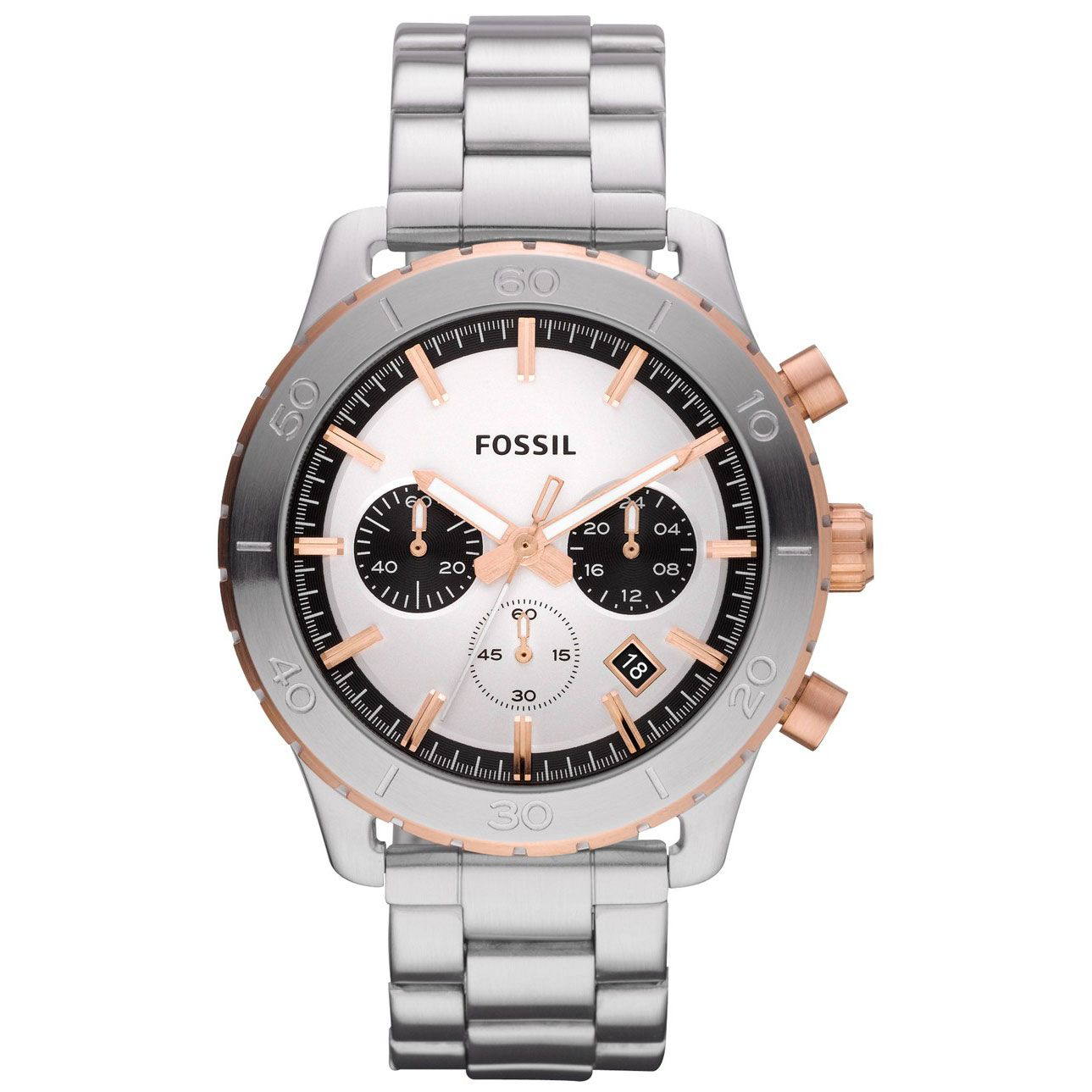 Fossil CH2815 Keaton Stainless Steel Watch Fossil