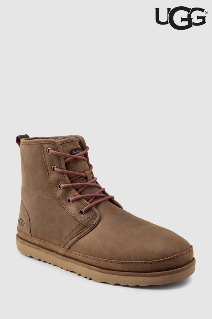 56e79eea579 Mens UGG Grizzly Harkley Waterproof Boots - Brown | Products | Uggs ...