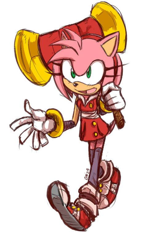 Sonic Boom Amy By Omiza On Deviantart Amy Rose Sonic Boom Amy Sonic