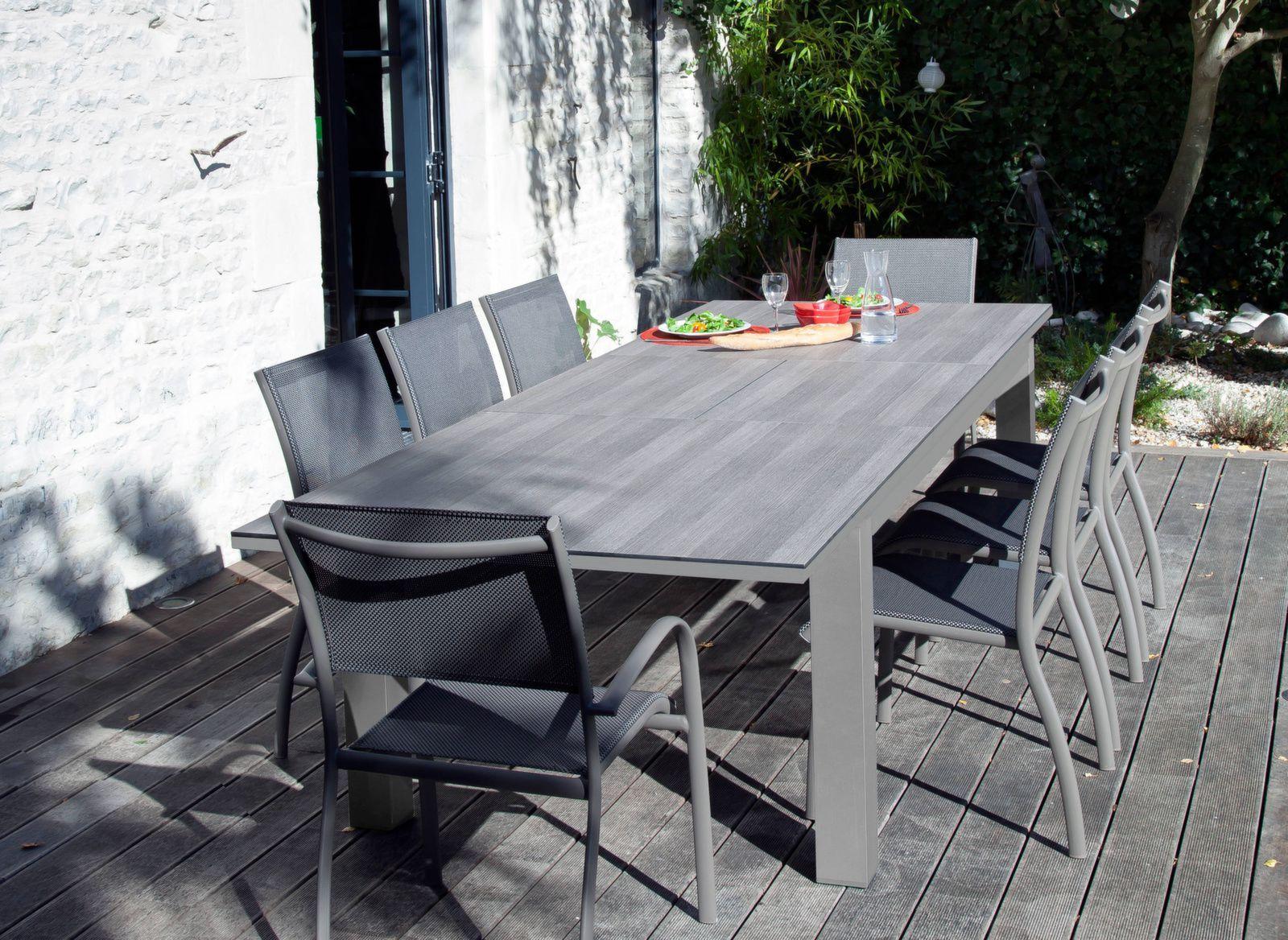 table flo 180 240 cm plateau trespa