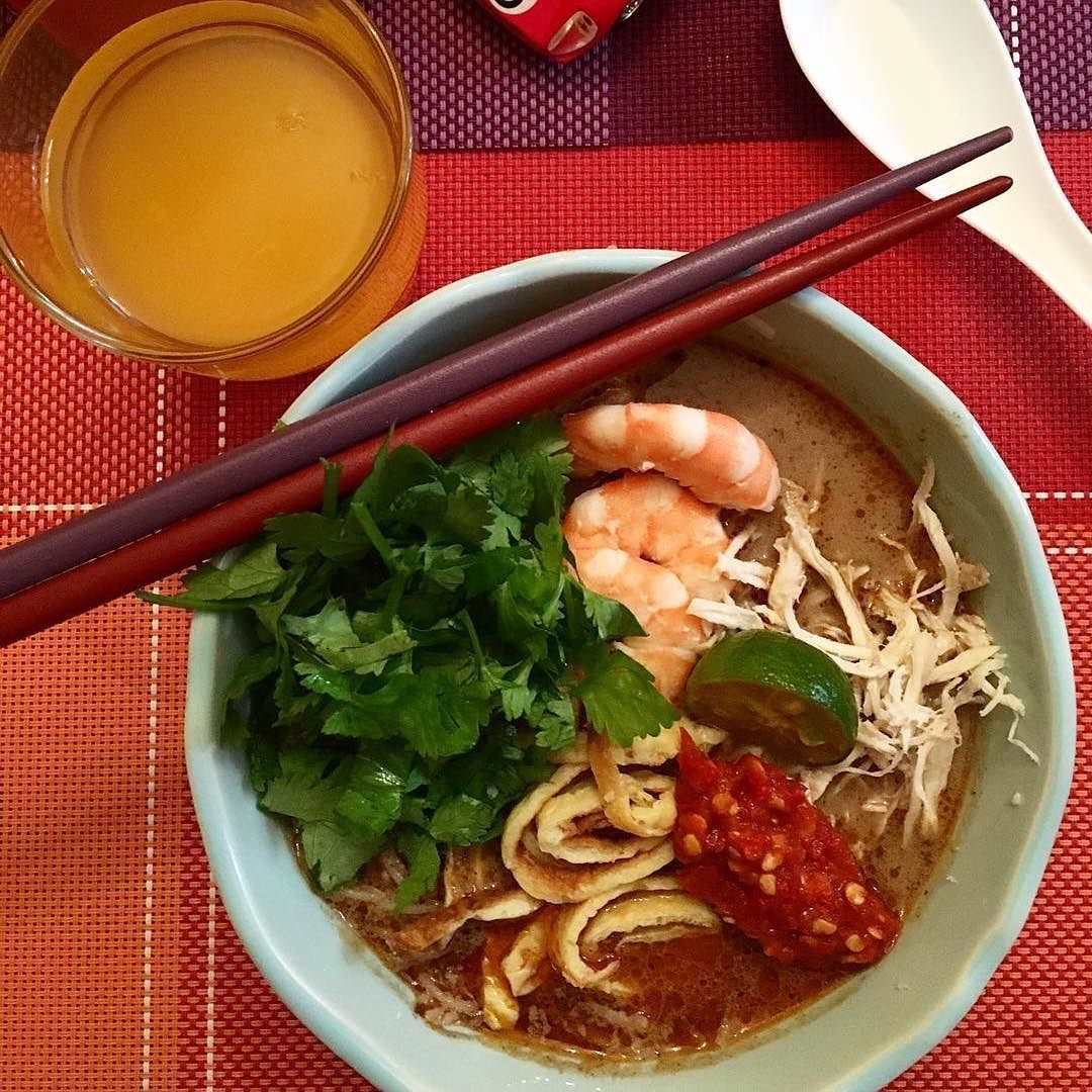 I Had This Sedap Gila Laksa Sarawak By Our Talented Sarawakian Host Imeldaharris At Her