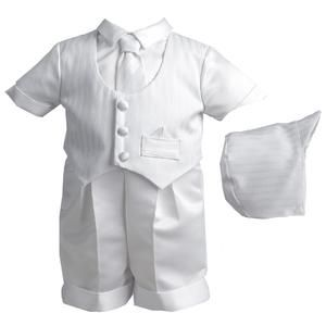 3aaf58cae Newborn Boy's Christening Suit & Bonnet - Sears | crafts | Baby boy ...