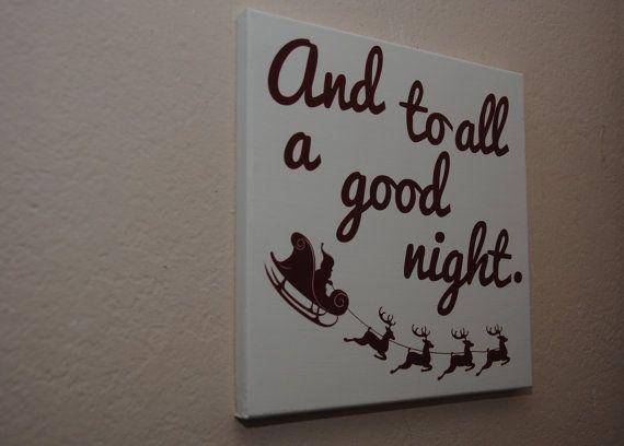 Christmas wall art - Christmas decor - Christmas sign - Santa sign - Christmas story sign - And ...