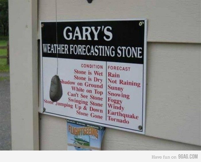 The Most Accurate Weather Forecast Funny Weather Funny Signs The Funny