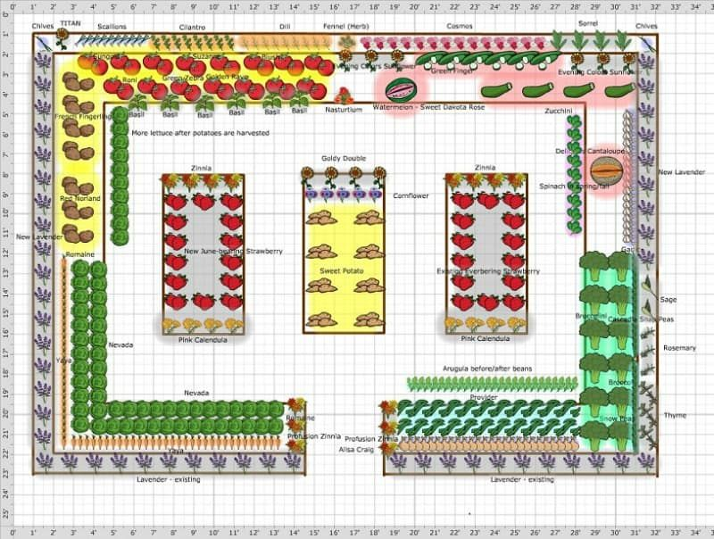 7 Free Vegetable Garden Plans To Get You Started ...