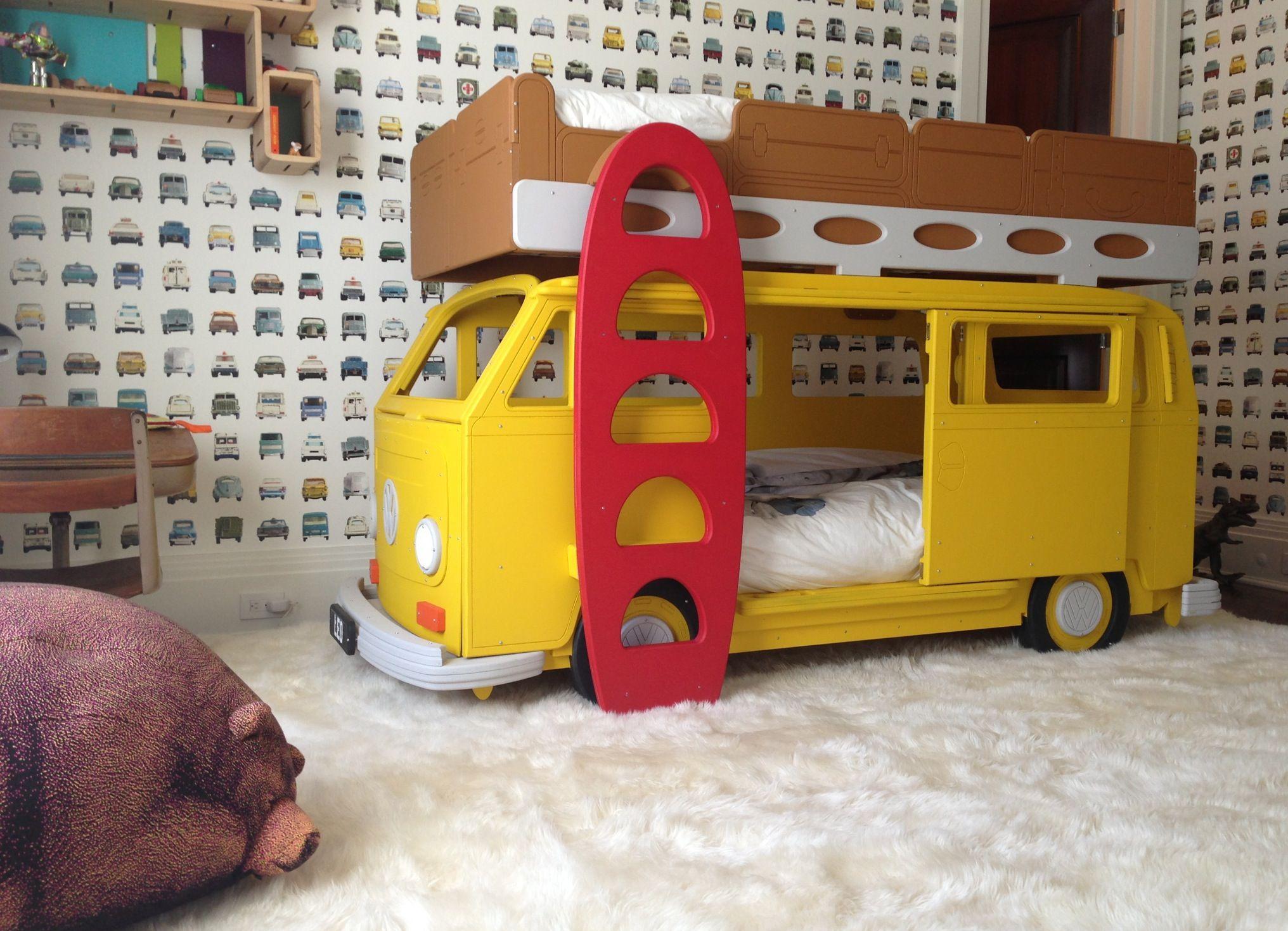 Etagenbett Autobett Bussy Kinderbett : Etagenbett bussy autobus hochbett kinderbett autobett bussbett in