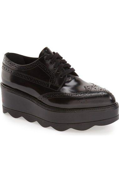 2ea8b3371e1 PRADA Scalloped Platform Oxford (Women).  prada  shoes