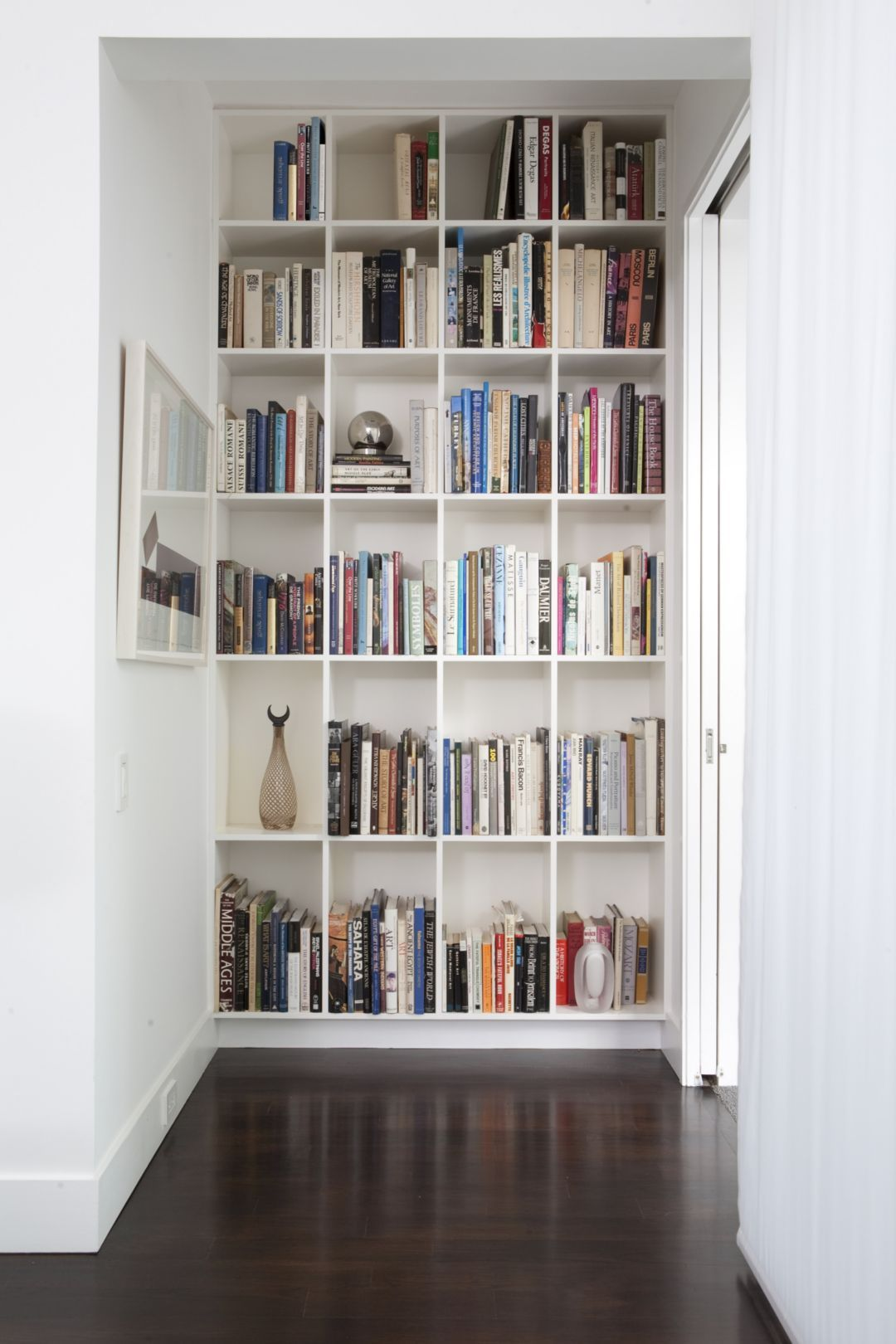 Books At Home: egg-crate shelves  |Egg Crate Shelving