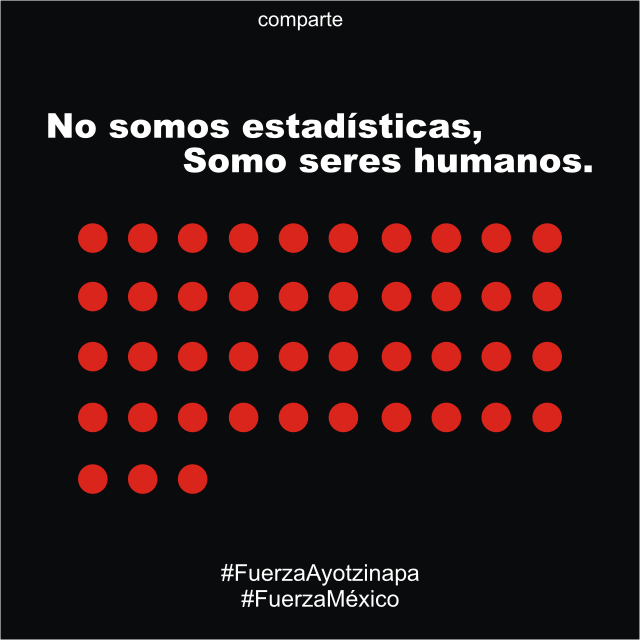 #FuerzaAyotzinapa
