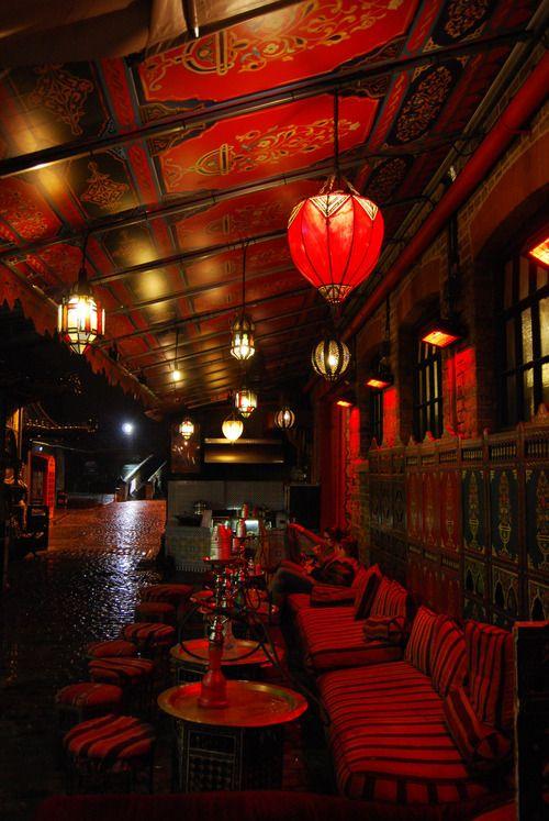 London cafe lounge hookahs nowhere but london pinterest london cafe cafes and bar - Shisha bar dekoration ...