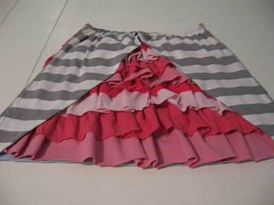 tutorial~cute Toddler dresses out of upcycled T-shirts