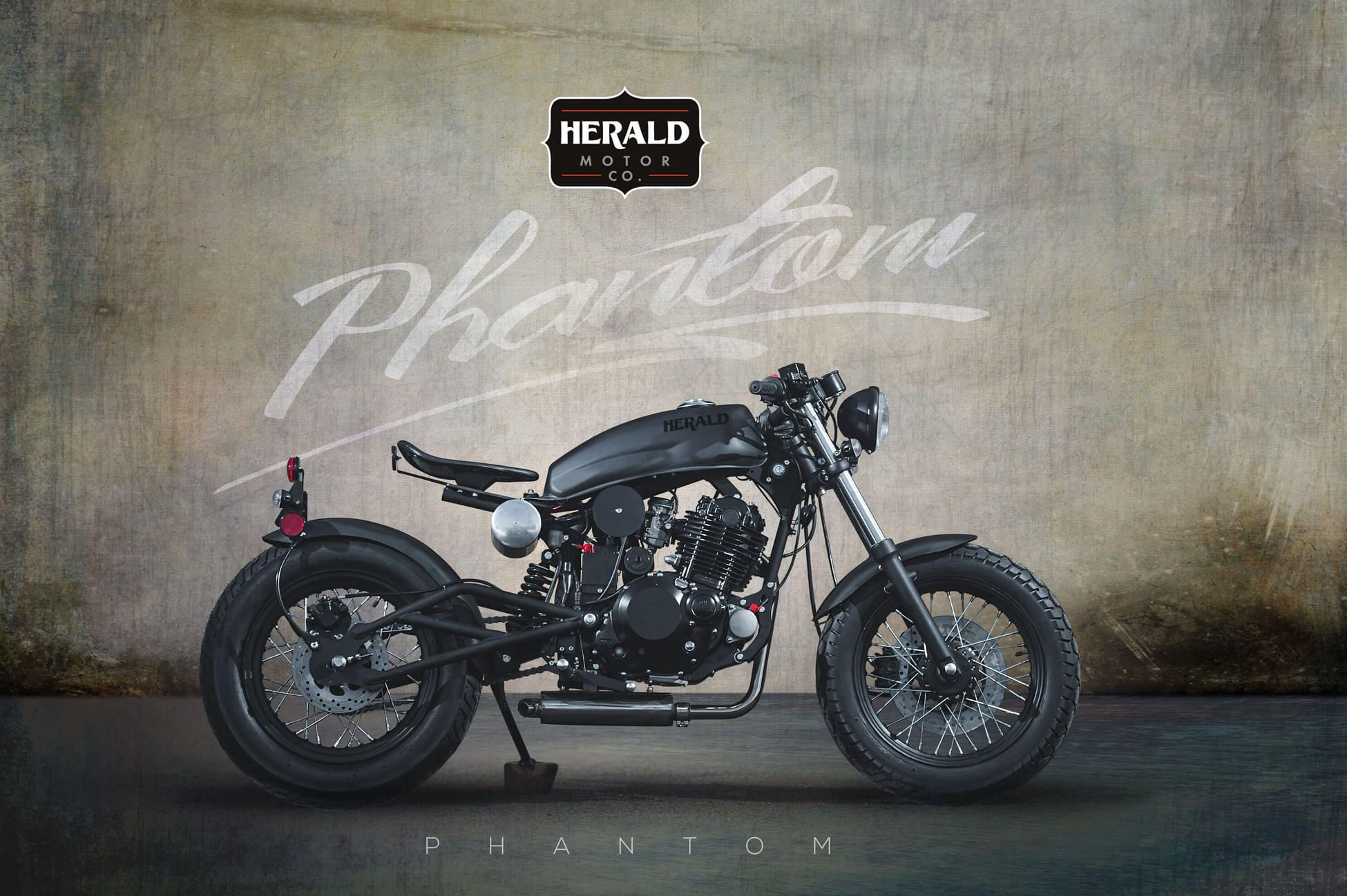 Styled around the Bobber, the Phantom is available in limited quantities and features a distinctive look that is sure to turn heads.