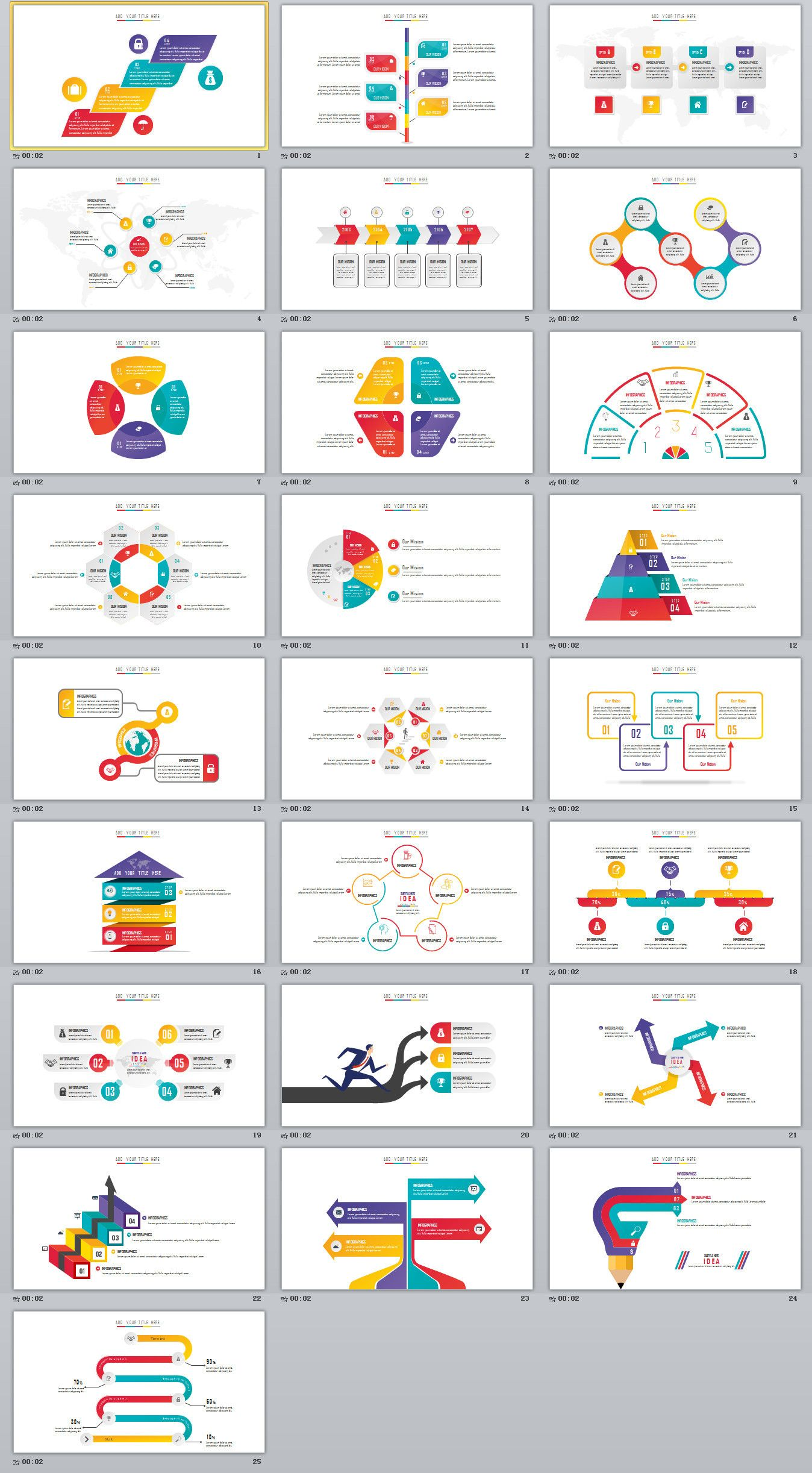 25 creative charts powerpoint template powerpoint templates 25 creative charts powerpoint template powerpoint templates presentation animation backgrounds toneelgroepblik Gallery