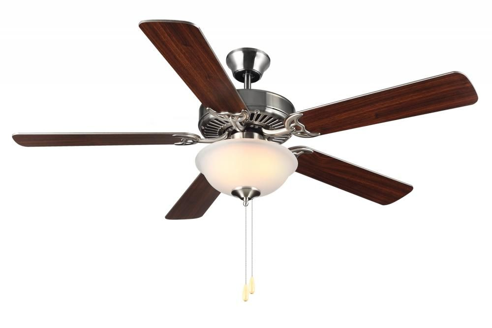 Two light nickel ceiling fan 9anu annapolis lighting