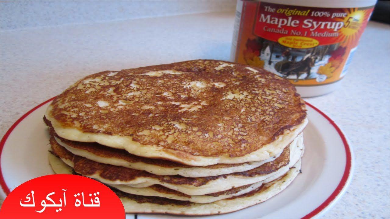 بان كيك بالشوكلاته بأسهل طريقة المكونات 2 كوب طحين كوب ونص حليب ثلث كوب سكر 25 غرام زبدة 1 ضرف بكنج باودر 10 غرام Food Breakfast Waffles