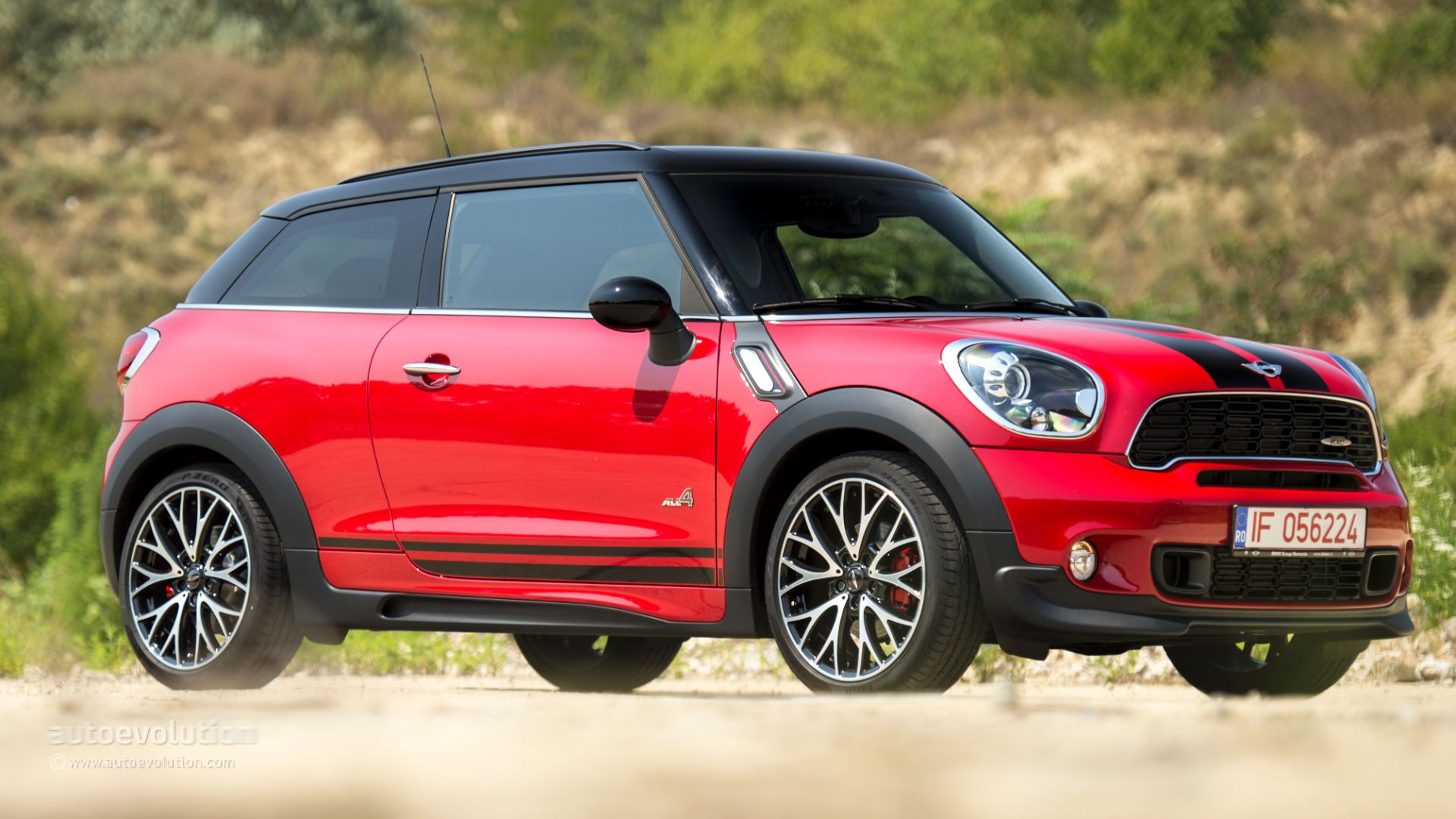 Pin By Autoevolution On Test Drive Adventures Mini Paceman John