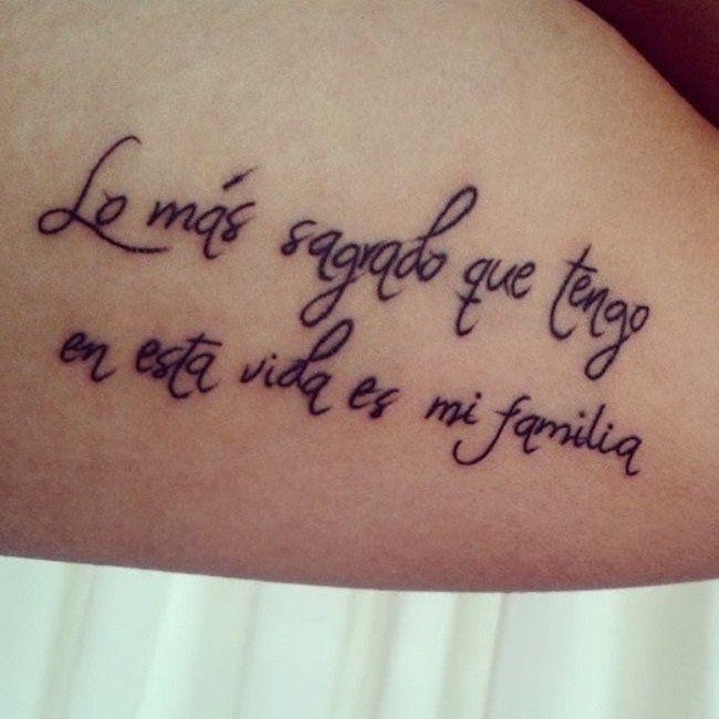 50 Frases Para Tatuajes Que Te Inspiraran Y Que Todas Quieren Tatuajes De Frases En Espanol Frases Para Tatuajes Frases Tatuadas