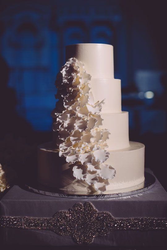 A wedding cake from Some Crust Bakery made this past year was featured recently on Ceremony Magazine's blog!