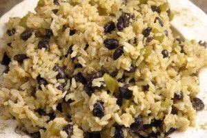 the unremarkable looking but delicious black beans and rice recipe that reappears again and again in my rotation of meals