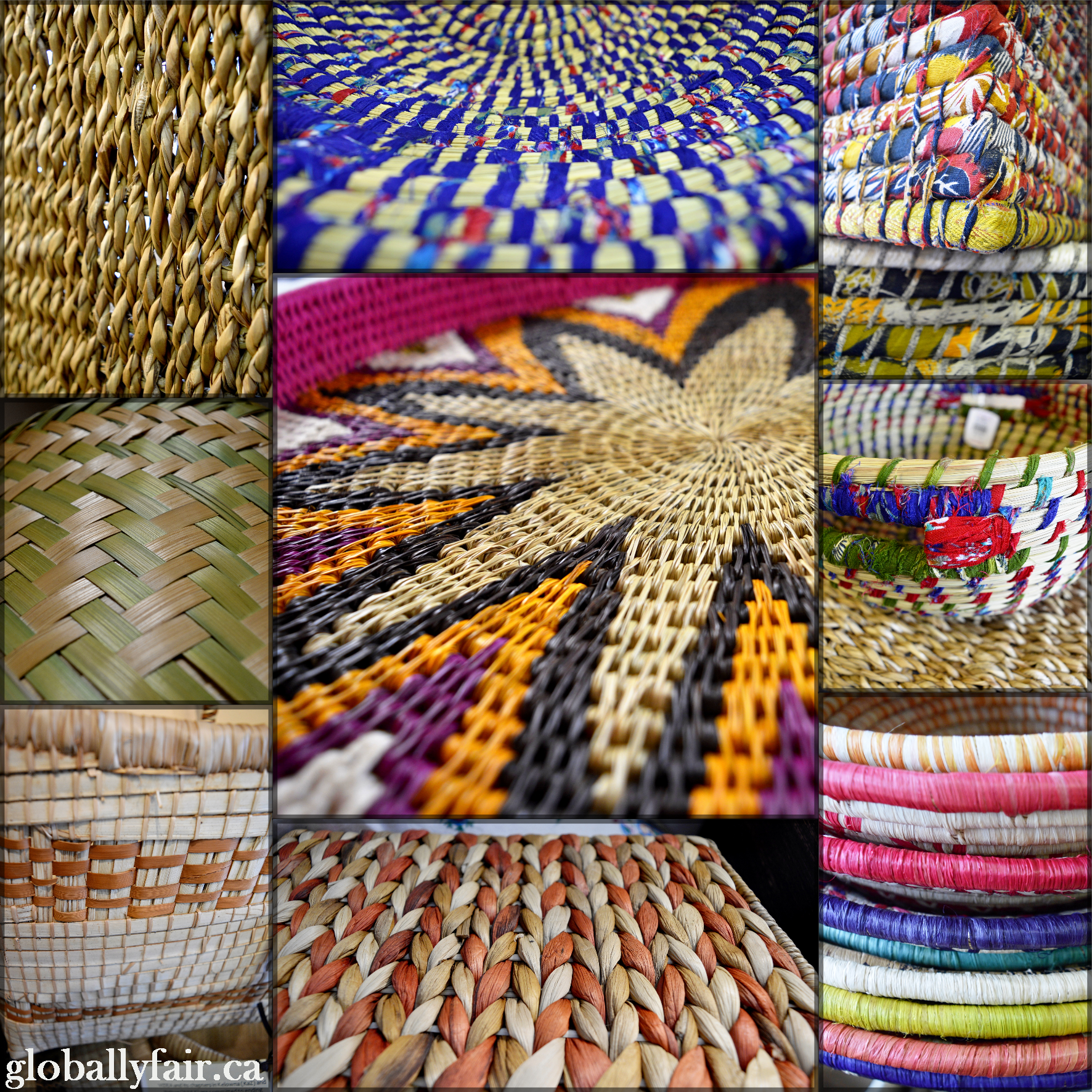 We have #baskets in every #shape, #size & #colour from #India, #Bangladesh, #Laos, #Uganda & #Zambia! #fairtrade #handmade