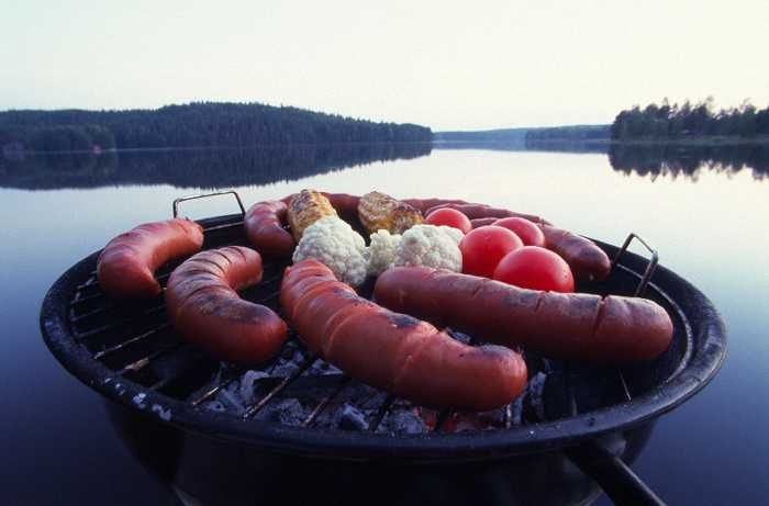The camp food, - Central Ostrobothnia province of Western Finland - Keski-Pohjanmaa
