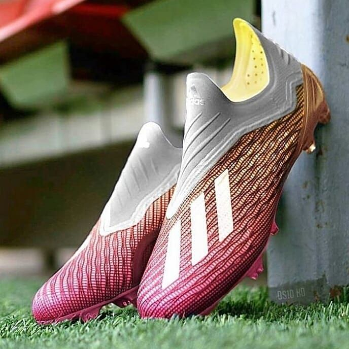 newest collection 55db8 8c851 What do you think about this Adidas X18 colorway Double Tap  follow  footballboots09 . . . . . . . . . . . . . . . . . . . cleats boots  football ...