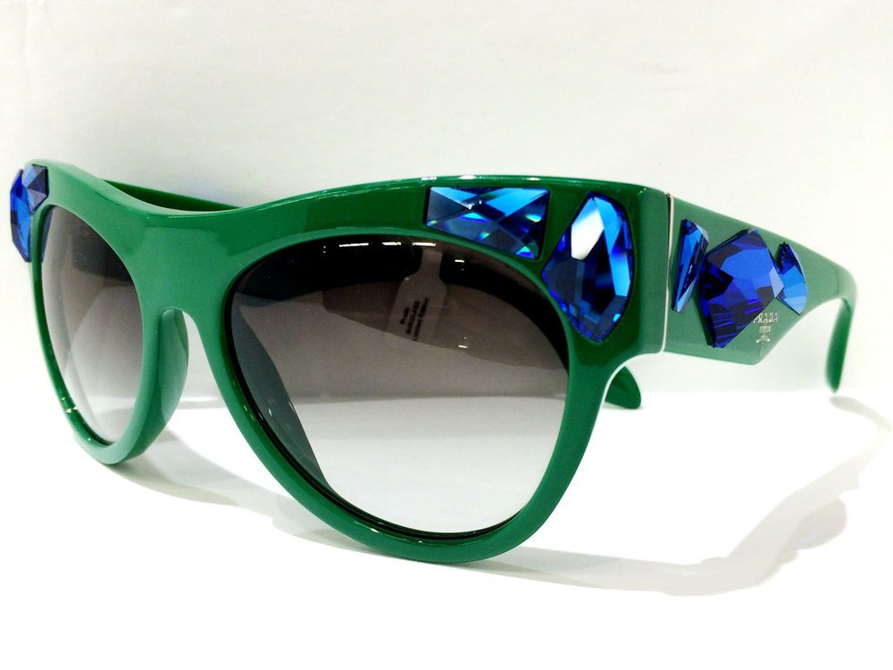 a484111d7ad21 AUTHENTIC  PRADA Sunglasses SPR 22Q 56-18 SMP-0A7 140 2N  Prada ...