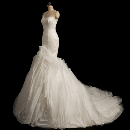 Haute Couture Fit-and-Flare Wedding Dresses from Darius Bridal ...