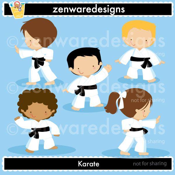 Karate Clipart Judo Infantil Aniversario Karate Fotografar Frases