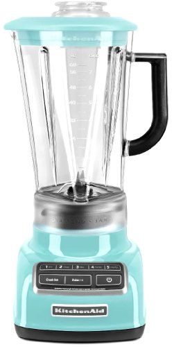 KitchenAid Martha Stewart Blue 5-Speed Blender Diamond Vortex ...