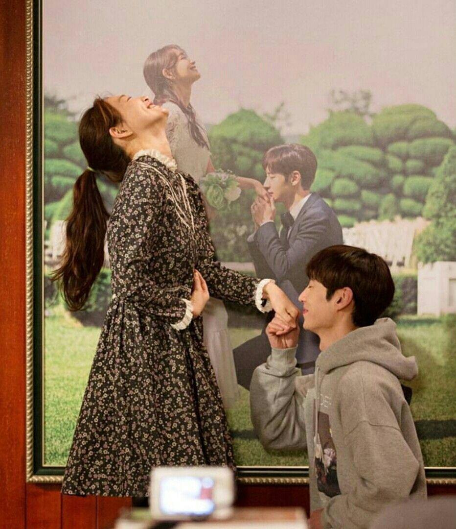 Shin Min Ah and Lee Je Hoon ❤❤ tomorrow with you drama
