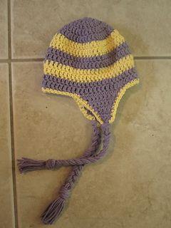 Baby Earflap Hat Pattern By Yarnspirations Design Studio Crochet