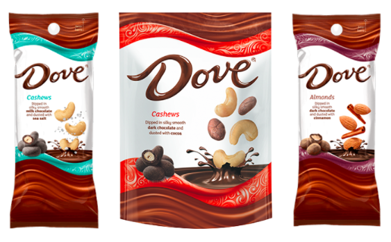 Dove 8217 S New Chocolate Covered Dusted Almonds 038 Cashews Chocolate Covered Chocolate Covered Nuts Snacks