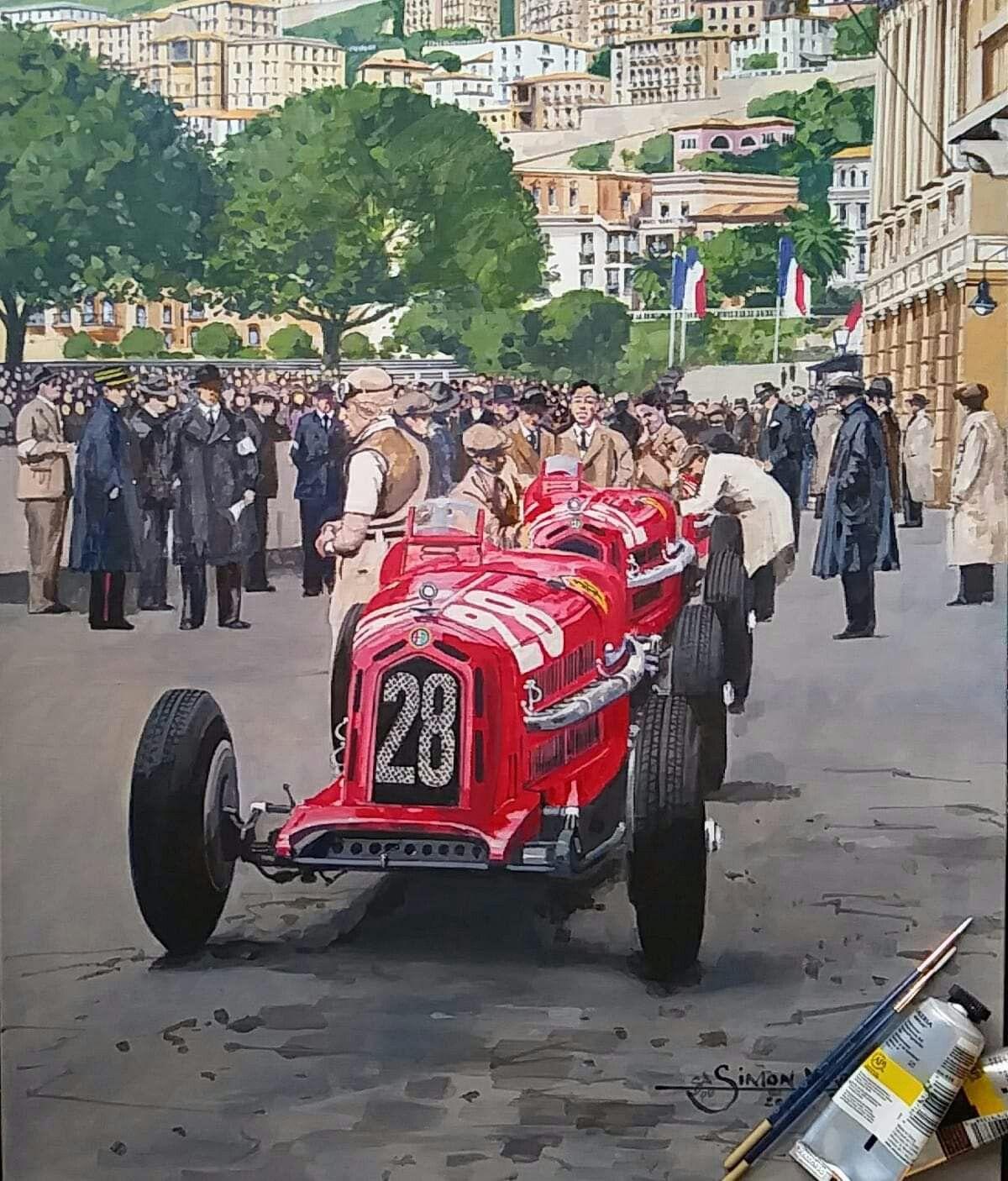 Épinglé par Олег Шибаев sur Racing Art | Voiture, Dessin ...