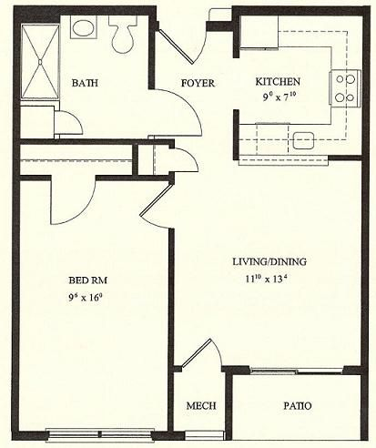 One Bedroom House Floor Plans choose from many architectural styles and sizes of home plans with