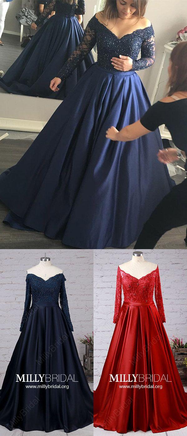 Long prom dressesprincess formal evening dresses modestoffthe