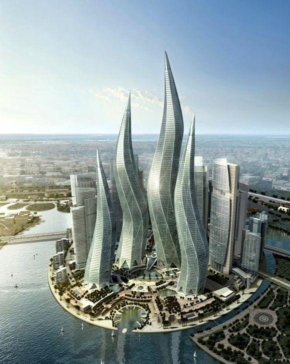 Dubai Towers, Dubai | Buildings | Pinterest
